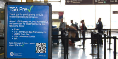 TSA Lets Travelers Apply for PreCheck